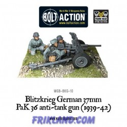 BLITZKRIEG GERMAN 37MM PAK36 ANTI-TANK GUN
