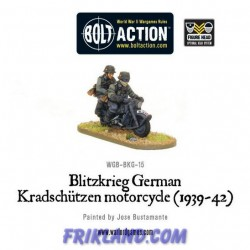 BLITZKRIEG GERMAN KRADSCHUTZEN MOTORCYCLE