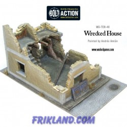 WRACKED HOUSE