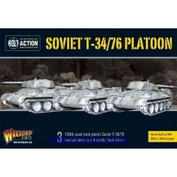 SOVIET T34/76 MEDIUM TANK PLATOON