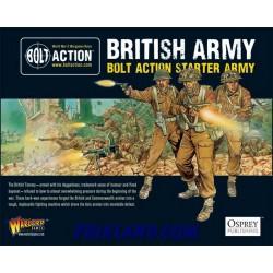 BOLT ACTION STARTER ARMY-BRITISH