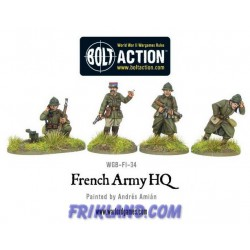 FRENCH ARMY: HQ
