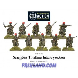 FRENCH ARMY: SENGALISE TIRAILLEURS