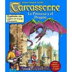 Carcassonne – La Princesa Y El Dragon