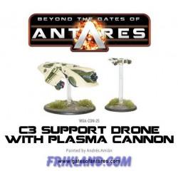 CONCORD C3 PLASMA DRONE WITH PLASMA CANNON