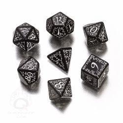 White & Black Elvish Dice