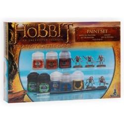 El Hobbit: un viaje inesperado Set de Pinturas