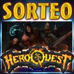 """SORTEO """"HEROQUEST 25 ANIVERSARIO"""""""