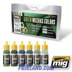 Colores Verdes para Mechas