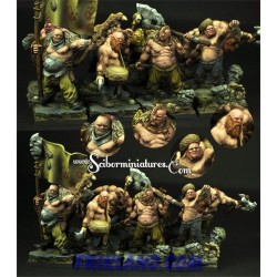 28mm Ogre Cossack set 2 (4)