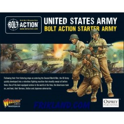 BOLT ACTION STARTER ARMY-AMERICAN