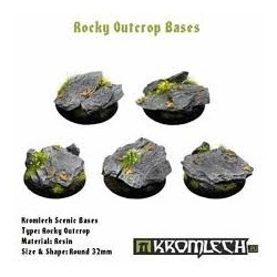 ROCKY OUTCROP BASES, ROUND 32MM