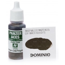 PANZER ACES LUCES C.ALEMAN (NEGRO)17ML.