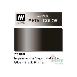 METAL COLOR 660-32ML. IMPR. NEGRO BRILLANTE