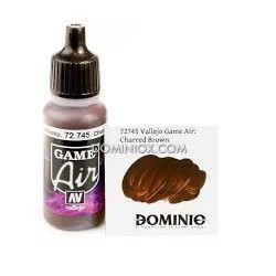 GAME AIR 745-17ML. MARRON CARBONIZADO