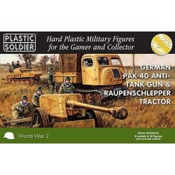 15mm German Pak 40 with Raupenschlepper tractor