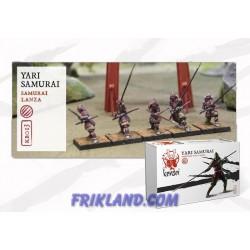 Yari Samurai con lanza