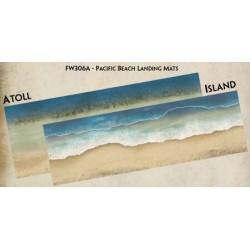 Pacific Beach Landing Mats
