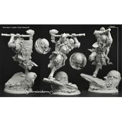 28mm/30mm Dwarves Marines set4 (5)