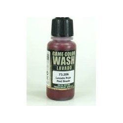 Wash/Lavado ROJO 206-17ML