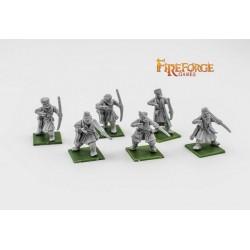 City Militia Archers (6 infantry resin figures)
