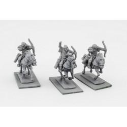 Russian Chernyeklobuki Archers (3 mounted resin figures)