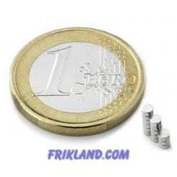Bolsa 50 imanes de neodimio 2 mm (diámetro) x1 mm (grosor)