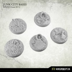 JUNK CITY BASES ROUND 32MM SET 2