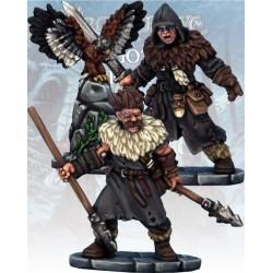 Barbarian Bard & Pack Mule