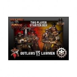 Outlaw VS Lawmen Two Player Starter Box