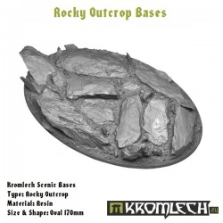ROCKY OUTCROP BASES, OVAL 170MM
