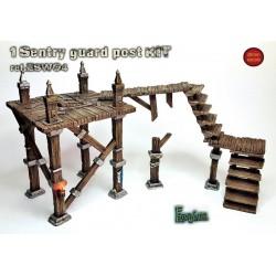 Wooden catwalks basic set