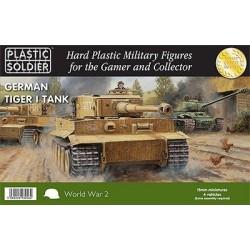 15mm Easy Assembly German Tiger I Tank