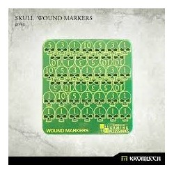 SKULL WOUND MARKERS GREEN
