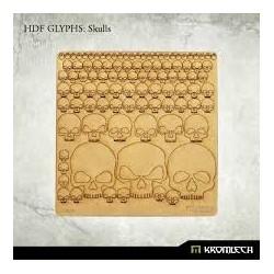 HDF GLYPHS: SKULLS
