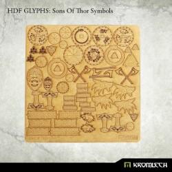 HDF: GLYPHS SONS OF THOR SYMBOLS