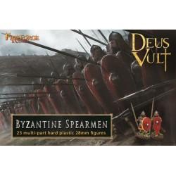 Byzantine Skoutatoi Infantry (25 infantry plastic figures)