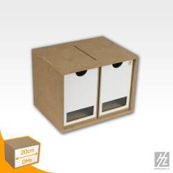 OMs01b - Drawers Module x 2