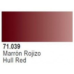 MARRON ROJIZO/HULL RED