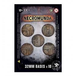 Necromunda: 10x 32mm bases