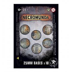 Necromunda: 10x 25mm bases