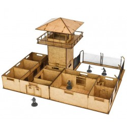 The Walking Dead:The Prison MDF Scenery Set