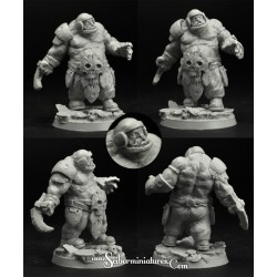 28mm/30mm Ogre Football Player 2