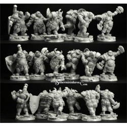 28mm/30mm Goblins Players 3 figures set (3)