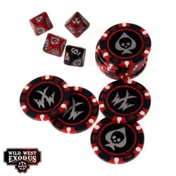 FORTUNE CHIPS AND DICE SET