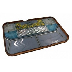 Space Fighter Manouver Tray - Light Blue