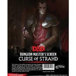 D&D: Curse of Strahd - DM Screen