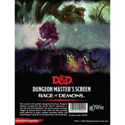 D&D: Out of the Abyss - DM Screen