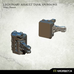 LEGIONARY ASSAULT TANK SPONSONS: HEAVY FLAMERS (1)
