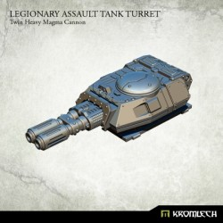 LEGIONARY ASSAULT TANK TURRET: TWIN HEAVY MAGMA CANNON (1)